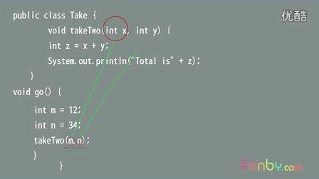 18.Java_你可以向方法中传入一个以上的参数