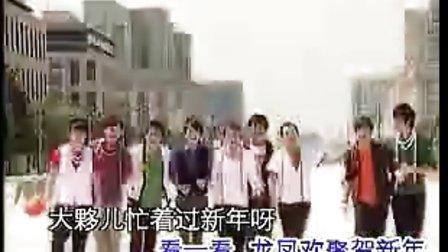 2009新年贺岁《龙凤呈祥齐拜年》