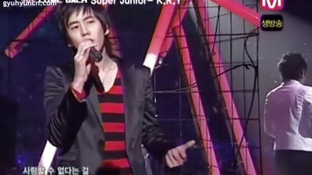 061109 Mnet M countdown SJ-K.R.Y - 只为一个人[奎家王朝]