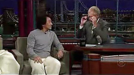 成龙做客美国脱口秀经典搞笑访谈(中文字幕)