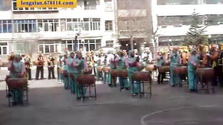 2009年陇县社火游演