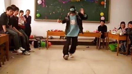 2008年9.1班茶话会 劲舞