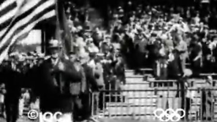 1924年巴黎奥运会开幕式