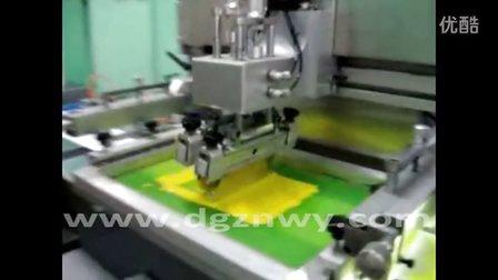 双色(UV)全自动丝网印刷机/丝印机.mp4