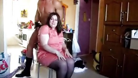 法国 性感 猛男 助兴胖女生日