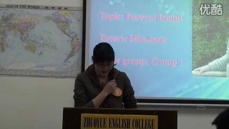 卓悦英文书院2009年朗读比赛