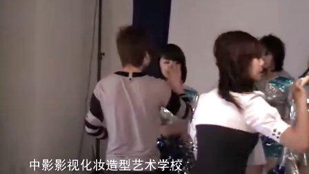北京中影影视化妆学校学生为时尚奥运宝贝特刊化妆造型