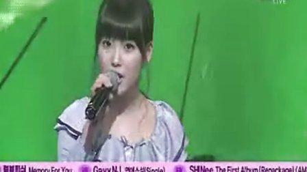 【TonyKim】Taw feat IU 合作现场 [傻瓜] SBS  090208