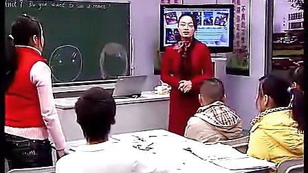 Do you want to go a movi人教版七年级初中英语视频