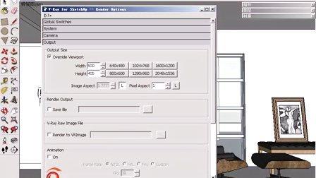 测试渲染参数的设置方法