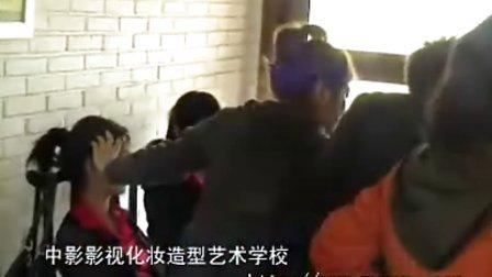 北京中影影视化妆学校学生为《雷克萨斯》国际高尔夫邀请赛开幕化妆造型