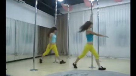 郑州钢管舞视频.夜场--02