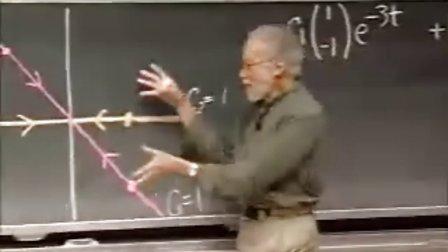 [微分方程:2X2的常系数齐次线性系统解决方案].Lecture.27