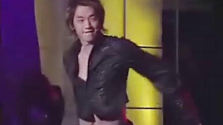 Rain与李孝利现场魅力舞蹈