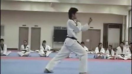 【侯韧杰  TKD  教学篇】之 龙仁大学跆拳道系 太极八章