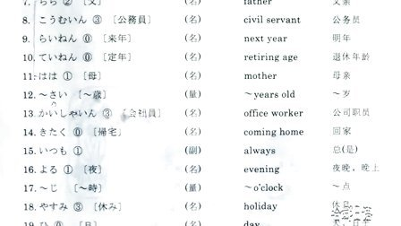 新世纪日本语教程第六课[第一课时]