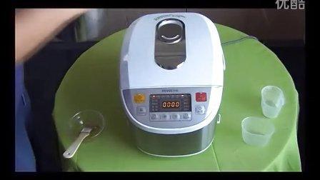 视频解析如何在家用奔腾电饭煲做蛋糕