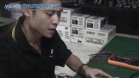 主板维修-电容的焊接技巧演示主板维修培训家电维修培训学校