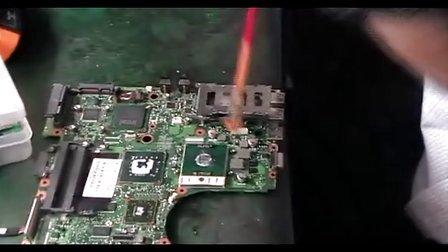 笔记本维修实例教程 计算机维修视频教程 维修VREG5短路