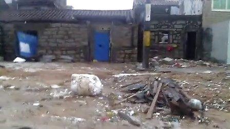 """____汕尾市红海湾开发区受到台风""""天兔""""的袭击、我们的家..."""