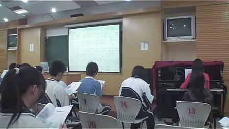 九年级初中音乐优质课《在银色的月光下》人教版刘老师