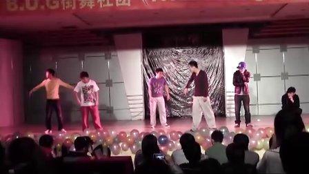 沈阳建筑大学BUG街舞社团2011专场演出——沈音舞音社jazzpoppin