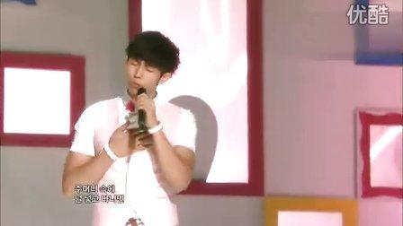 [LIVE]100626 MBC 音乐中心《唠叨》IU任瑟雍