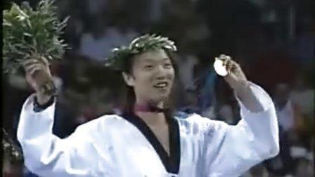 【侯韧杰 TKD 宣传篇】之  陈中跆拳道学校早期宣传片!