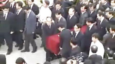 韩前总统卢武铉遗体返回其家乡峰下村寓所.