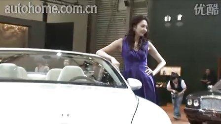汽车之家上海车展实拍 宾利Continental GTC