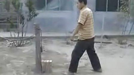 【侯韧杰 kungfu 精华篇】之 凌厉戳脚门