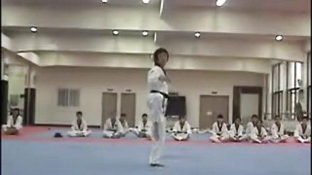 【侯韧杰  TKD  教学篇】之 龙仁大学跆拳道系 高丽