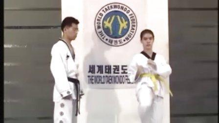 【侯韧杰  TKD  教学篇】之 二十世纪九十年代忠实跆拳道韩版教学!