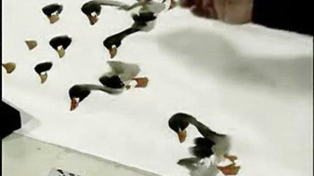 16小鸭的画法