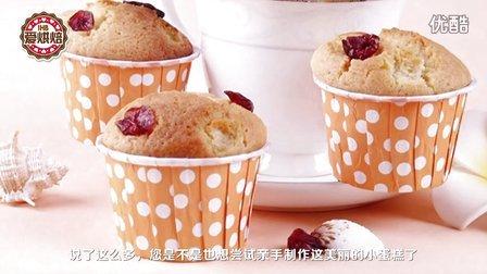 爱烘焙第4期 蔓越莓玛芬蛋糕