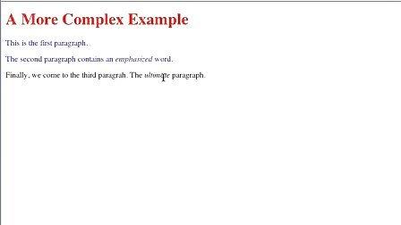 Lynda.com Learning CSS2 11-descendent_selectors