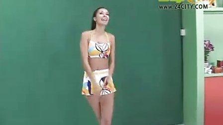 泳装秀芭蕾- 巴西美女名模Giselle