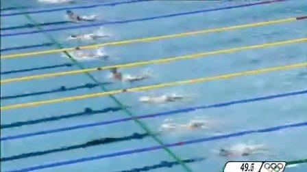 北京奥运游泳比赛男子100蛙-决赛