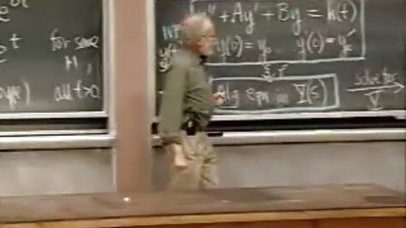 [微分方程:利用拉普拉斯变换求解线性常微分方程].Lecture.20