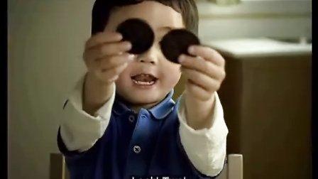 张培英 其恒国际 奥利奥饼干广告张培英小童星-钟邢恩