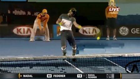 2009 澳网决赛 费德勒vs纳达尔
