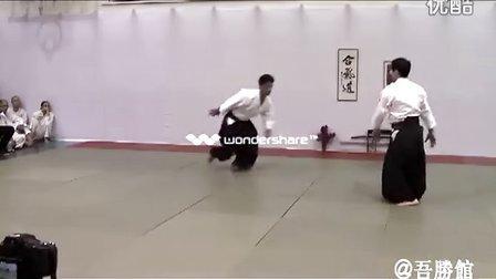 合气道 — 中村信昭师范演武(刀、杖、两人取)