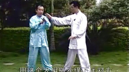形意拳中安身炮对练 李宏讲解