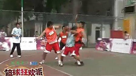 【OPPO篮球狂欢派】笑喷!这年头还有男生穿健美裤打球