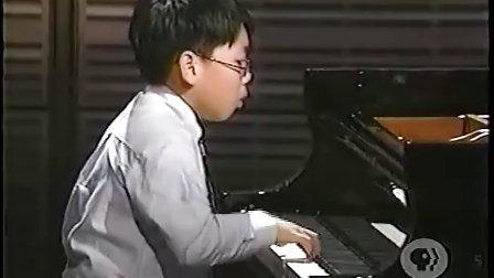 黎卓宇在卡内基音乐厅弹奏李斯特第十一号匈牙利狂想曲