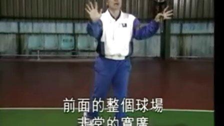 教你打网球 正手拍着地球打法