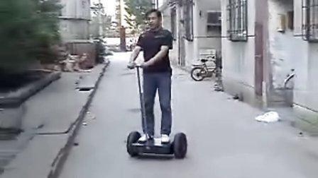我的山寨SEGWAY(两轮平衡车)测试