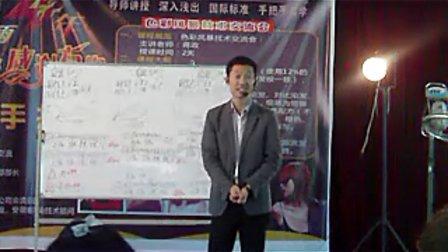 2010年11月蒋政老师色彩风暴课程9 蒋政染发调配方法和多段发色