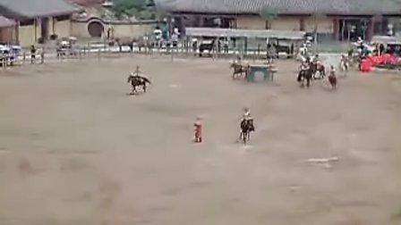 清园表演—马球