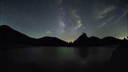 地球风景 微速拍摄